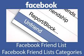 Facebook Friend List