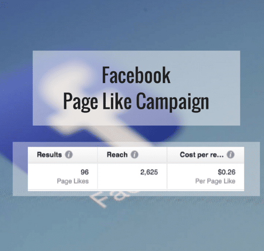 Facebook Like Campaign