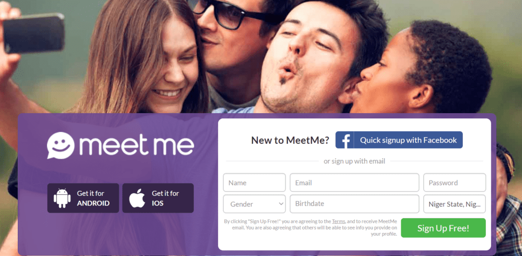 Login to Meetme or Sign Up for - Meetme Login at www