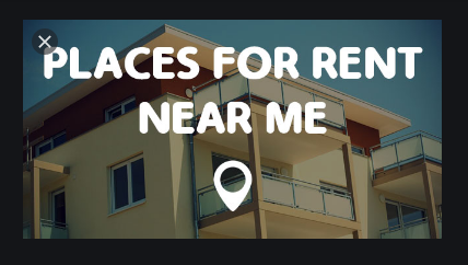 Places For Rent Near Me