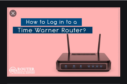 How to Log in to a Time Warner Router